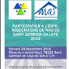 Participation à l'Expo-Associations du MAS de Saint Germain en Laye